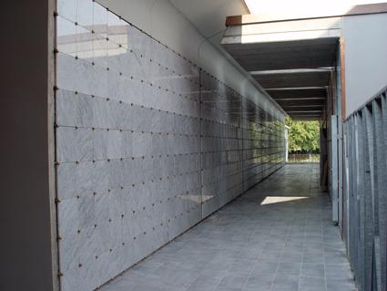 Ampliamento del Cimitero di Reggiolo - Lato Nord
