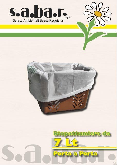Biopattumiera Organico 7 Lt