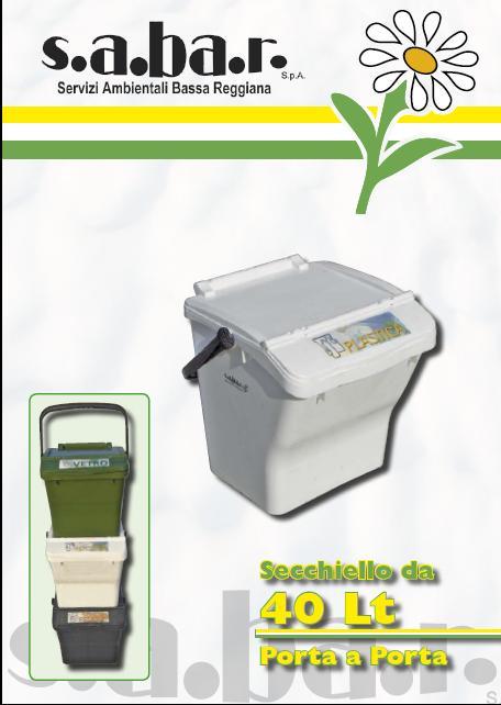 Secchiello Plastica 40 Lt