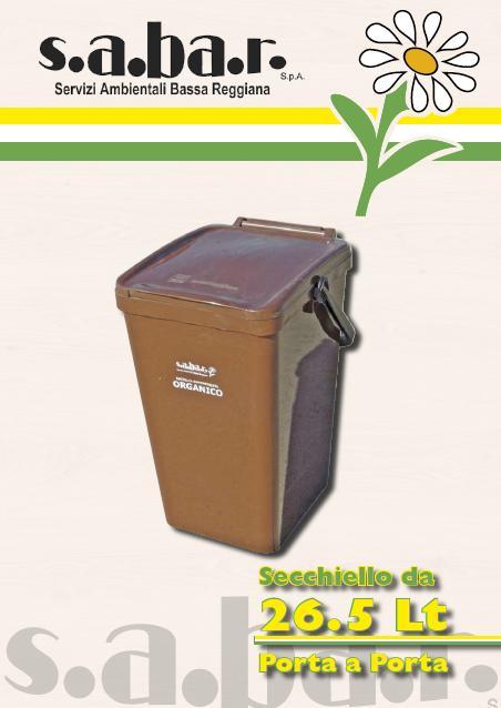 Secchiello Organico 26.5 Lt