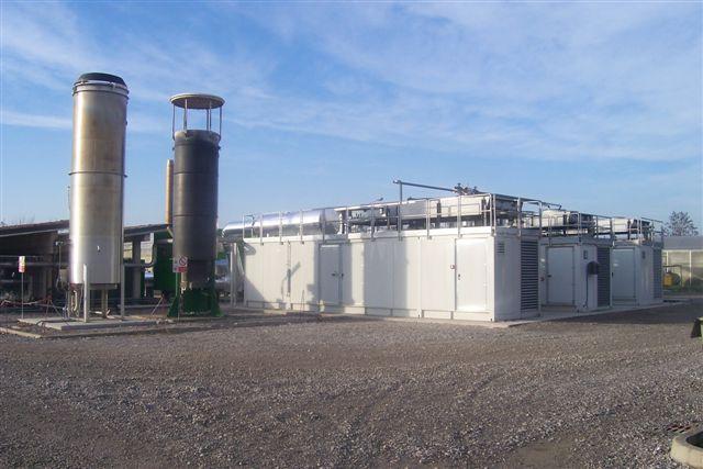 Centrale di cogenerazione a biogas da discarica