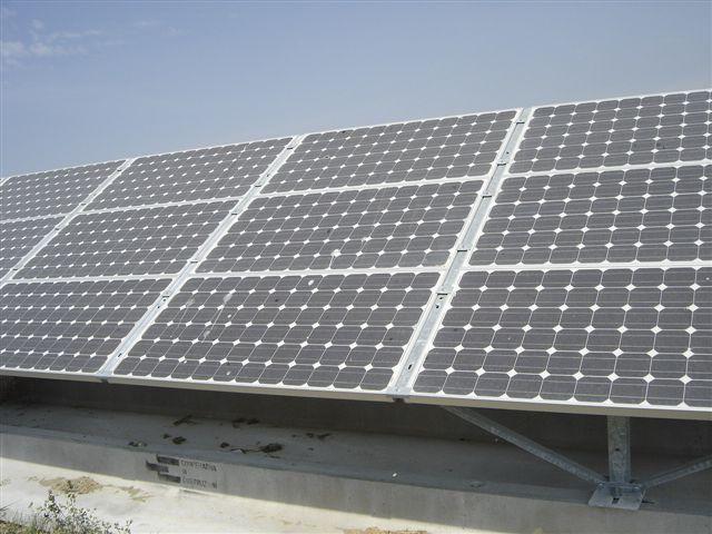 Lavaggio pannelli fotovoltaici sporchi
